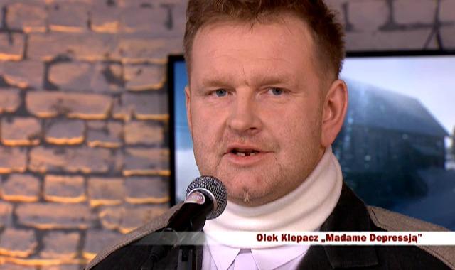 inne – Madame Depressją – Olek Klepacz. Dzień Dobry TVN. Warszawa 2012